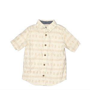 🍒 3/25$ linen Mix Boys Pattern Shirt